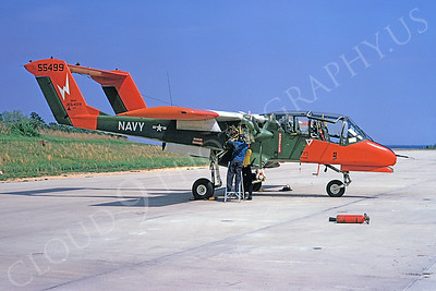 OV-10USN 00005 North American OV-10 Bronco US Navy 155499 22 April 1974 NAS Patuxent River by David Ostrowski