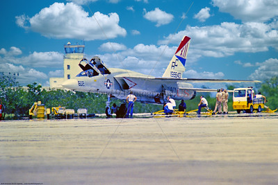 RA-5C-RVAH-12 006 A static North American RA-5C Vigilante, USN supersonic recon aircraft, 156640, RVAH-12 SPEARTIPS, USS Saratoga, 2-1979, military airplane picture via Stephen W  D  Wolf coll    GGG_0060   Dt