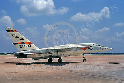 RA-5C 00025 North American RVAH-3 USN 156609 by Clay Jansson
