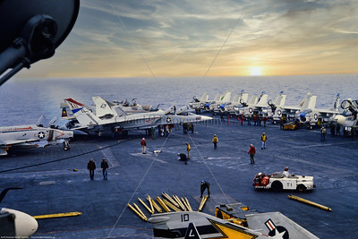 RA-5C-RVAH-12 007 A static North American RA-5C Vigilante, USN supersonic recon aircraft, RVAH-12 SPEARTIPS, USS Saratoga, 2-1979 USS Saratoga, military airplane picture via Stephen W  D  Wolf coll    GGG_0075   Dt