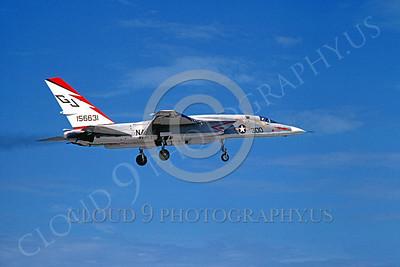 RA-5C 00010 North American RA-5C Vigilante RVAH-3 USN 156631 June 1996 by Michael Grove, Sr