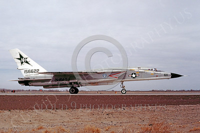 RA-5C 00009 North American RA-5C Vigilante RVAH-7 USN 156622 USS Kitty Hawk 21 April 1977 NAAS Fallon by Peter B Lewis