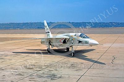 RA-5C 00017 North American RA-5C Vigilante USN 156615 RVAH-6 NAS North Island 17 May 1975 by Peter B Lewis