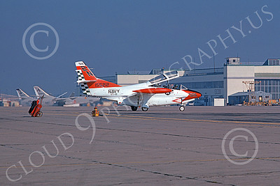 T-2USN 00019 A taxing North American Aviation T-2C Buckeye USN 155212 VT-10 WILDCATS NAS Alameda 12-1974 military airplane picture by Michael Grove, Sr