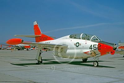 DG 00096 North Amercan T-2 Buckeye US Navy 147452 May 1963 by William T Larkins