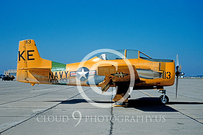 T-28USN 00005 North American T-28B Trojan Aug 1954 by Balogh