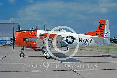 T-28USN 00009 North American T-28B Trojan TW-5 27 July 1978 by Charles E Stewart