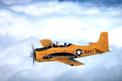 T-28USN 00002 North American T-28 Trojan courtesy of North American Aircraft Co