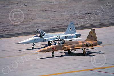 F-5USN 00020 Northrop F-5E Freedom Fighter US Navy TOPGUN 545 MCAS Yuma May 1983 by Peter J Mancus