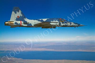 TOPG 00005 Northrop F-5E Freedom Fighter US Navy 159881 543 TOP GUN June 1985 by Peter J Mancus