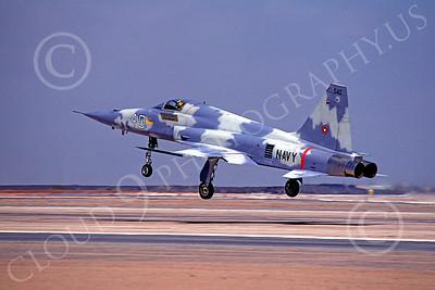 F-5USN 00004 Northrop F-5E Freedom Fighter US Navy 540 TOPGUN NAS Miramar August 1980 by Peter J Mancus