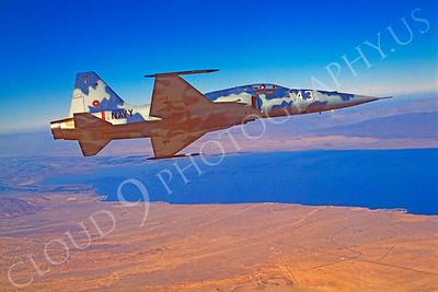 TOPG 00003 Northrop F-5E Freedom Fighter US Navy 543 TOP GUN June 1985 by Peter J Mancus