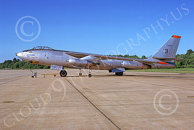 B-47USN 00005 A static Boeing B-47E Stratojet USN 24100 10-1974 military airplane picture by Ron McNeil