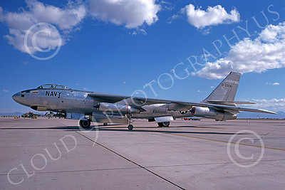 B-47USN 00001 A static Boeing B-47E Stratojet USN 32104 6-1975 military airplane picture by Michael Grove, Sr