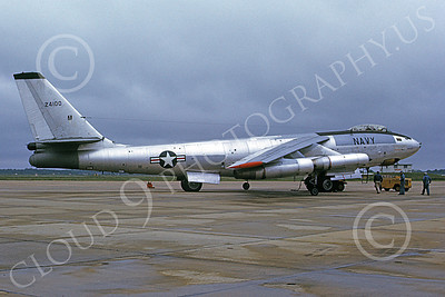 B-47USN 00003 A static Boeing B-47E Stratojet USN 624100 5-1972 military airplane picture by Michael Grove, Sr