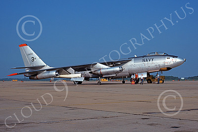 B-47USN 00008 A static Boeing EB-47L Stratojet USN 524100 NAS Oceana 5-1971 military airplane picture by Michael Grove, Sr