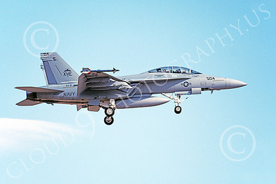 Boeing F-18F-USN 00098 A landing Boeing F-18F Super Hornet USN 165544 VX-9 VAMPIRES XE code 8-1999 military airplane picture by Michael Grove, Sr