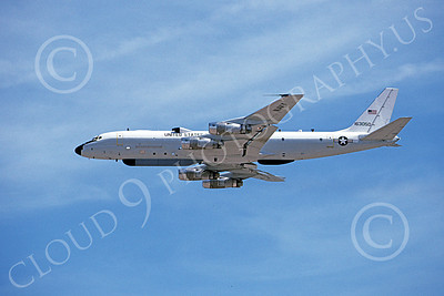 Convair 880USN 00004 A flying Convair 880 USN 163050 4-1995 military airplane picture by Michael Grove, Sr