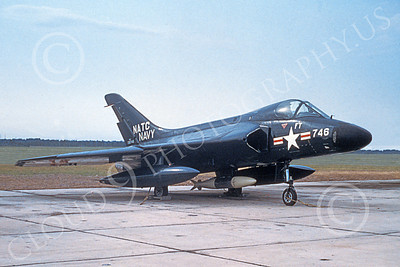 F4D-1USN 00004 A static Douglas F4D-1 Skyray USN 130746 NATC 1959 military airplane picture by Clay Jansson