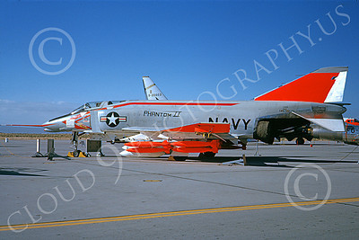 F-4USN 00196 A static early McDonnell Douglas F4H-1 Phantom II US Navy 145310 Edwards AFB 6-1962 military airplane picture by Doug Olson