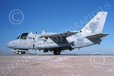 ES-3USN 00023 A taxing Lockheed ES-3A Shadow USN 159393 VQ-5 SEA SHADOWS NAS Fallon 4-1994 military airplane picture by Michael Grove, Sr