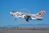 A-7USN-VA-304 0002 A landing Vought A-7B Corsair II USN attack jet 154479 VA-304 FIREBIRDS NAS Fallon military airplane picture by Michael Grove, Sr