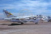 A-7USN-VA-146 0001 A static Vought A-7E Corsair II USN 159645 VA-146 BLUE DIAMOND USS Constellation NAS Fallon 7-1976 military airplane picture by Michael Grove, Sr