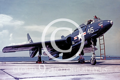 F7U-1USN 00003 Vought F7U-1 Cutlass Official US Navy Photograph