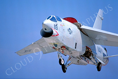 RF-8USN 00006 Vought RF-8 Crusader USN VFP-63 September 1980 by Peter J Mancus