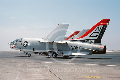 BICEN-F-8 00003 Vought RF-8 Crusader VFP-63 USN NAS Miramar July 1976 by Peter J Mancus