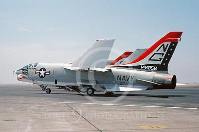 BICEN-F-8 00003 Vought RF-8 Crusader VFP-63 USN NAS Miramar July 1976 by Peter J Mancus