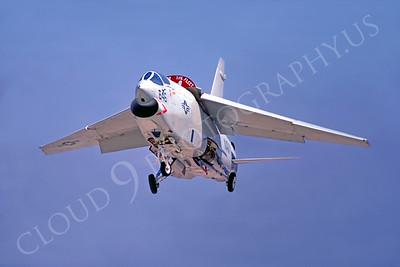 RF-8USN 00002 Vought RF-8 Crusader Eyes of the Fleet by Peter J Mancus