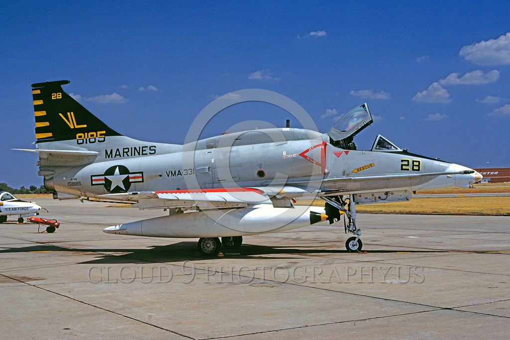 US Marine Corps Douglas A-4 Skyhawk Military Airplane Pictures ...