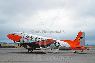 DG 00120 Douglas C-117 Skytrain USMC 17122 MARS-37 October 1961 by Clay Jansson