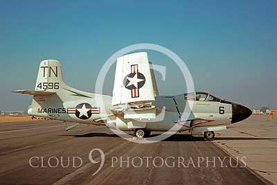 F-10USMC 00001 Douglas EF-10B Skynight VMCJ-3 16 May 1970 El Toro by Clay Jansson