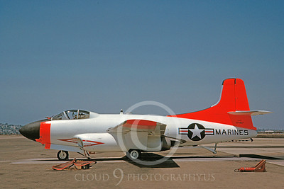 DG 00118 Douglas F3D Skynight USMC 124617 August 1982 by Clay Jansson