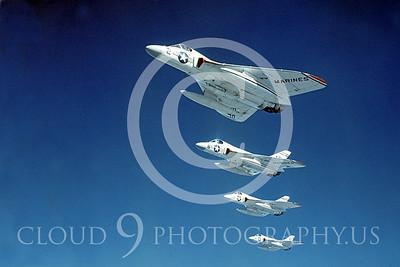 F4DUSMC 00008 Douglas F4D1 Skyray VMF-115 courtesy Douglas Aircraft Co