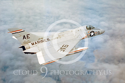 F-4DUSMC 00002 Douglas F4D Skyray VMF-115 by Clay Jansson