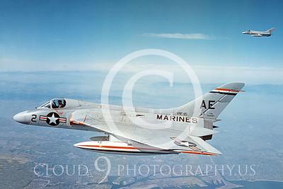 F-6USMC 00006 Douglas F-6A Skyray VMF-115 courtesy Douglas Aircraft Co
