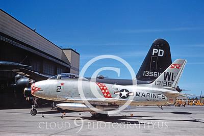 FJ-4USMC 00001 North American FJ-4 Fury VMF-235 16 June 1957 by William T Larkins