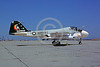 A-6USMC-VMA-332 00001 A static Grumman A-6E Intruder USMC attack jet 152902 VMA-332 MOONLIGHTERS NAS Alameda 5-1976 military airplane picture by Michael Grove, Sr via African Aviation Slide Service