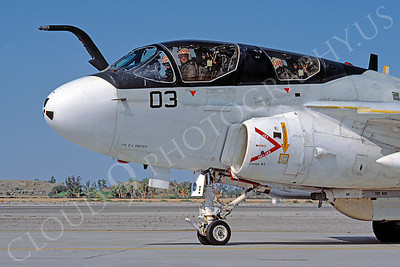 CUNMJ 00091 Grumman EA-6B Prowler USMC MCAS Yuma by Peter J Mancus