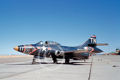 RF-9FUSMC 00001 Grumman RF-9F Panther USMC MCAS El Toro by Clay Jansson