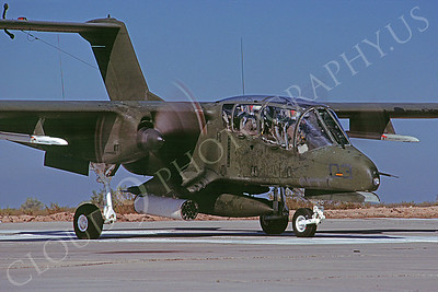 OV-10USMC 00003 North American OV-10A Bronco USMC May 1983 by Peter J Mancus
