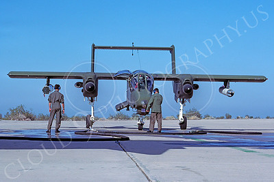 OV-10USMC 00001 North American OV-10 Bronco USMC January 1983 by Peter J Mancus