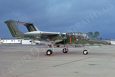 OV-10USMC 00007 North American YOV-10A Bronco USMC 52880 3 August 1974 NAS Pax River by David Ostrowski