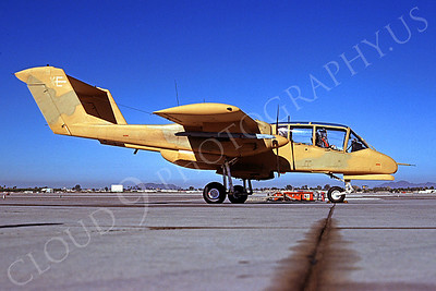 OV-10USMC 00021 North American OV-10 Bronco USMC MCAS Yuma January 1985 by Peter J Mancus