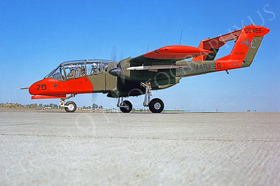 OV-10USMC 00015 North American OV-10 Bronco USMC VX-5 55465 by Peter J Mancus