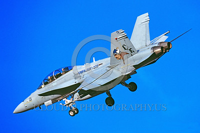 F-18USMC-VMFA(AW)-225 0002 A landing McDonnell Douglas F-18D Hornet USMC VMFA(AW)-225 VIKINGS military airplane picture by Peter J Mancus
