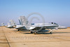 F-18USMC-VMFA-122 0001 A static McDonnell Douglas F-18 Hornet USMC jet fighter 161984 VMFA-122 WEREWOLVES Andrews AFB 12-1986 military airplane picture by Barry Roop